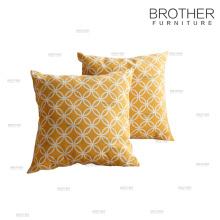 Almohada de lino suave decorativa al por mayor lisa para el hotel y el hogar