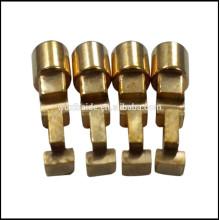 Latão cnc usinagem peças sobressalentes / cobre cnc produto