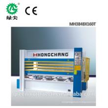 máquina caliente de la prensa de la piel de la puerta del ahorro de energía / pieles de la puerta del MDF / máquina caliente de la prensa de la laminación de la chapa
