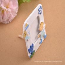 carrinho de papel bebê frigorífico imã foto frame