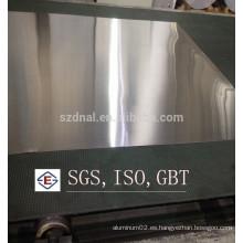 Fabricante de hoja de aluminio de acabado de molino en China