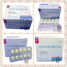 Antibiotika Doxycyclin-Tabletten