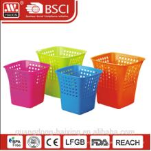 HaiXing горячие продажи пластиковых отходов корзина с различным цветом