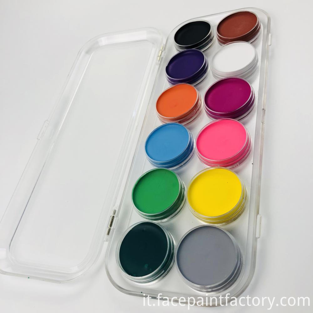 12 Color Face Paint