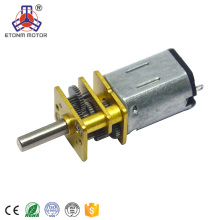 starker und lärmarmer 12mm Durchmesser 12v DC Getriebemotor