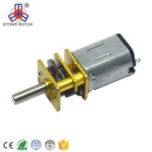 6 вольтовый двигатель постоянного тока 12 мм низкий rpm с энкодера