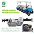 Elektrofahrzeugantrieb mit vier Rädern