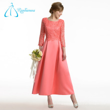 Satin Lace A-Line Long Sleeve Mother Of The Bride Dresses