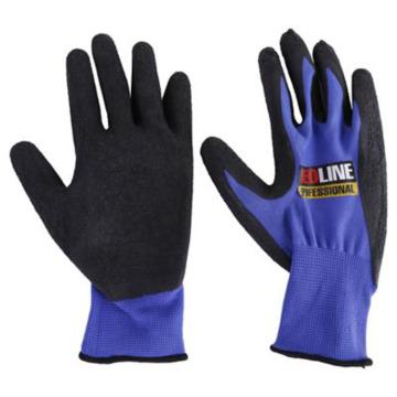 Breathable Nylon Liner Sandy Finish Palm Coating Work Glove