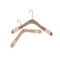 natural wooden hanger for men