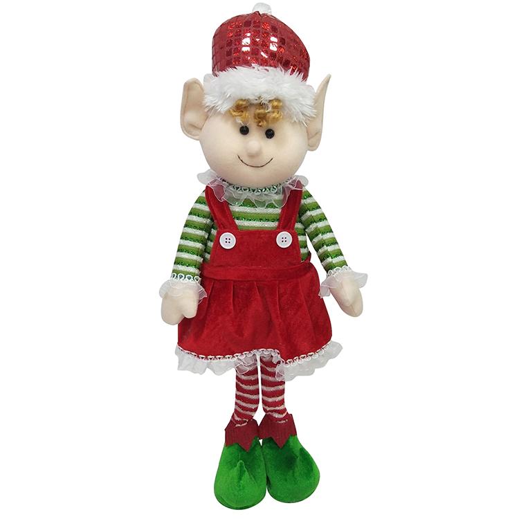 Christmas Magic Elf Plush Doll