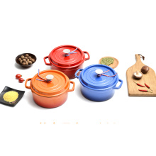 China cast iron colorful enamel casserole pot stewpot