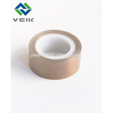 Non stick PTFE coated fiberglass adhesive tape with/ without release liner chemical resistance