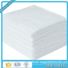 "Produto de venda quente Ultra Macio 10 ""x 10"" toalhetes de bambu toalhinha para Pele Sensível"