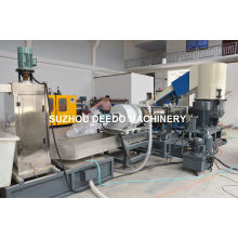 PP PE Film Two Extruder Granulation Line