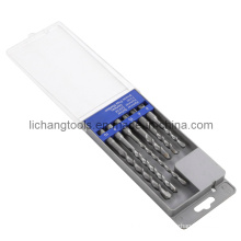 6PCS Hammer Drill Bit with Plastic Box