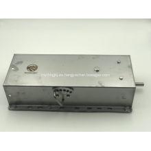 Alimentador automático para alimentación de cerdas mediante acero inoxidable.