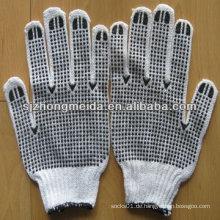 Arbeitshandschuh des Sicherheits-Baumwollhandschuhes nahtloser