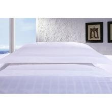 Satin Check Hotel Algodão Roupa de cama com colcha Set (WS-2016198)