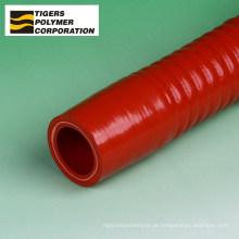Mangueira de limpeza de borracha de silicone. Fabricado por Tigers Polymer. Feito no Japão (mangueira de silicone de cotovelo de 180 graus)