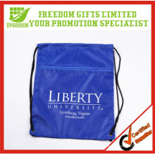 Most Popular Best Selling Promotional Polyester Blank Drawstring Bag