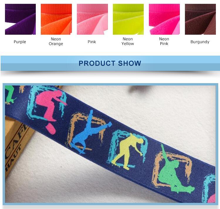 Colored Elastic Roll