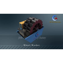 Electrical Bucket Wheel Silica Sand Washer Washing Machine Sand Wash Plant