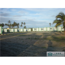 Prefabricated House Building Modular Camp House Good Insulation Prefab Low Cost (shs-fp-camping004)