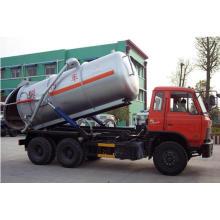 Caminhão da sucção da água de esgoto do vácuo do chassi de 6 * 4 Dongfeng para a exportação