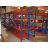 Durable Long span pallet racking system , high density stor