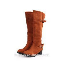 ladies sexy rubber sole heel less high heels boots lady