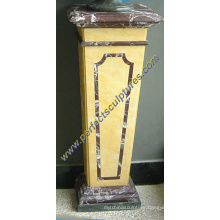 Stone Granite Marble Base for Bust Sculpture (BA067)