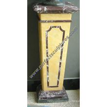 Каменная гранитная мраморная основа для скульптуры бюста (BA067)