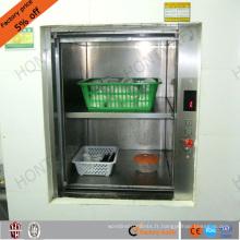 chine vertical muet serveurs ascenseurs maisons nourriture monte-charge ascenseur prix de l'ascenseur