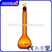 JOAN Lab Glass Borosil Flacon de mesure volumétrique Amber Glassware