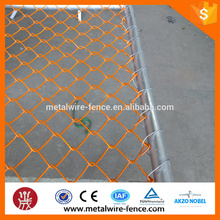 wire mesh chain link temporary fence(China supplier)