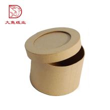 La fabrication professionnelle la plus nouvelle boîte en papier de forme ronde d'emballage recyclable