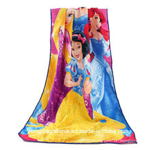 100%Polyester Quick-Dry Microfiber Promotional Beach Towel