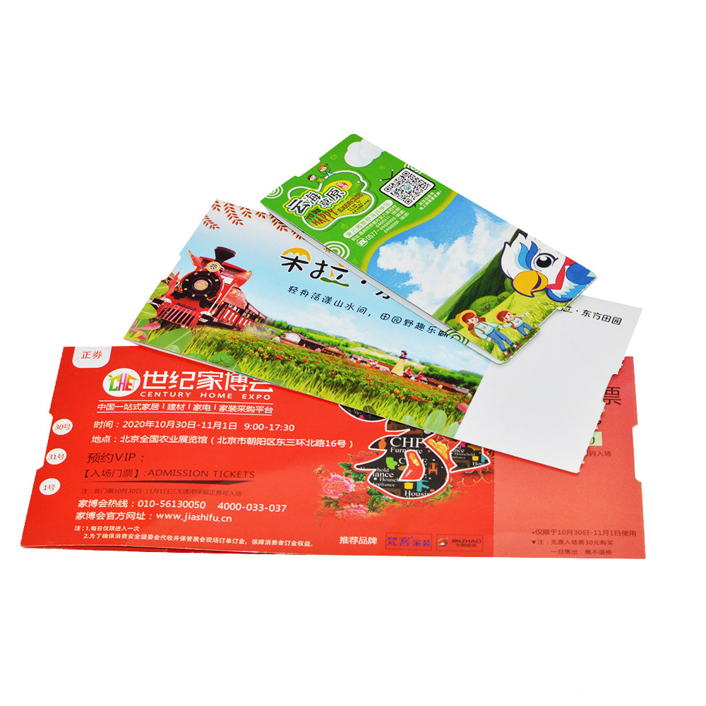 Ticket Card 0034