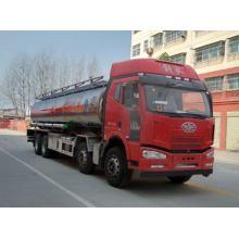 Cisterna de aleación de aluminio JIEFANG FAW 8X4 24000Litres