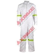 Combinaison ignifuge de 9oz C / N pour le soudage de vêtements de travail