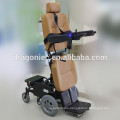 CE approved disabled lightweight motorized standing wheelchair