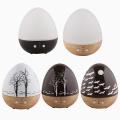 Агомасагебыл горячий продукт мини-яйцо дерево 150мл деревянный стеклянный Отражетель Ароматности 20071