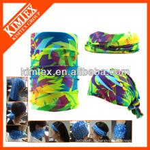 Multifunktionale nahtlose magische röhrenförmige kundenspezifische Sport-Haarbänder