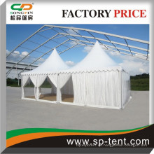 5x5m Clear Ridge Funktion Zelte mit klaren Seitenwänden und Pagode gezabo Vordächer