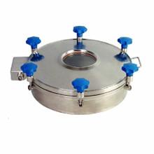 Acessórios de tanque de aço inoxidável venda quente YA série manhole cover