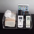 Acrylic TV Remote Control Mobile Phone Organizer