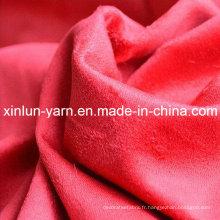 Tissu de mode de haute qualité pour la veste de robe de vêtement