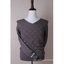 Men′s Classic Cashmere V Neck Pullover