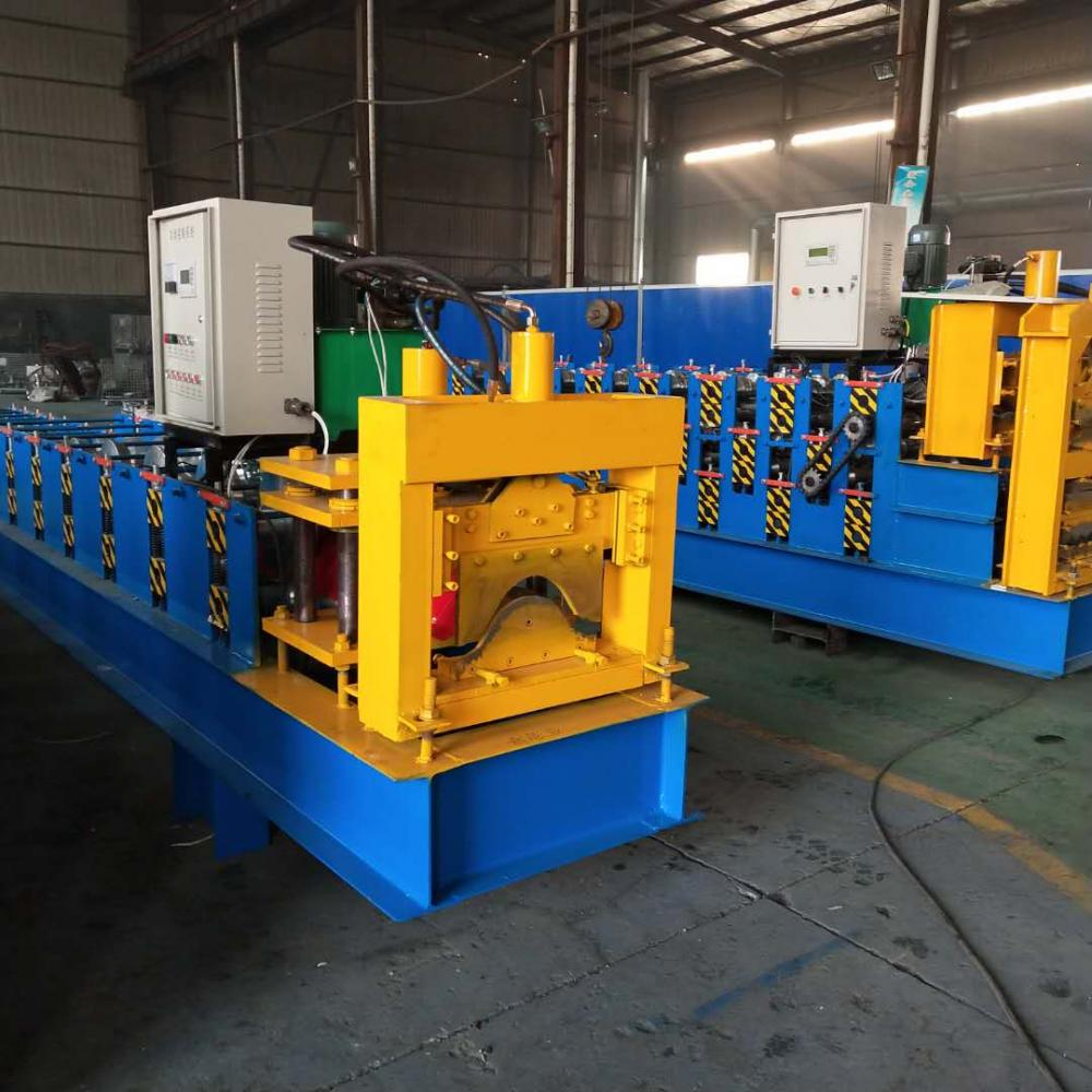 Metal Ridge Cap Tile Making Machine
